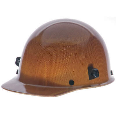 MSA Hard Cap,4 pt. Ratchet,Natural Tan, 482002, Natural Tan
