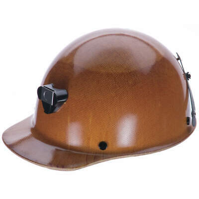MSA Hard Hat,C, G,Natural Tan,4 pt. Pinlock, 460409, Natural Tan