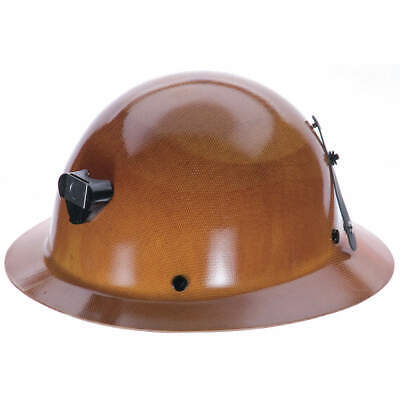 MSA Hard Hat,C, G,Natural Tan,4 pt. Pinlock, 460389, Natural Tan