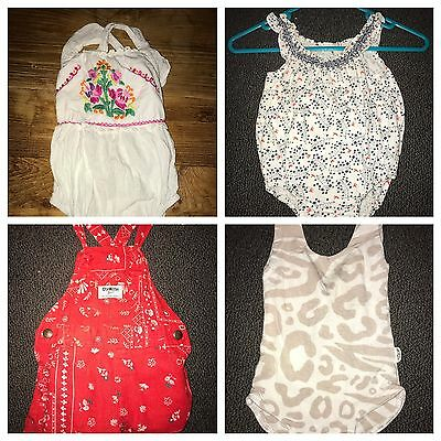 Baby Girl Bundle - Size 000 And 00 (FromZion,osh Kosh, Coco And Ginger, Purebaby