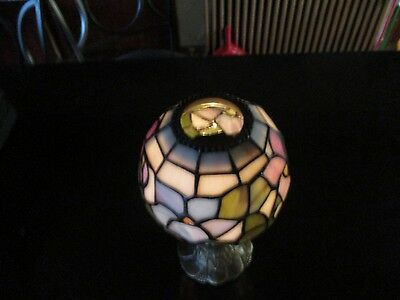 Tiffany Style Stained Glass Candle Holder Lamp Tea Light Votive