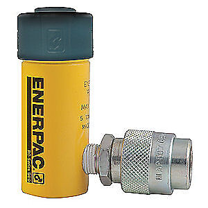 ENERPAC Cylinder,5 tons,1in. Stroke L, RC-51
