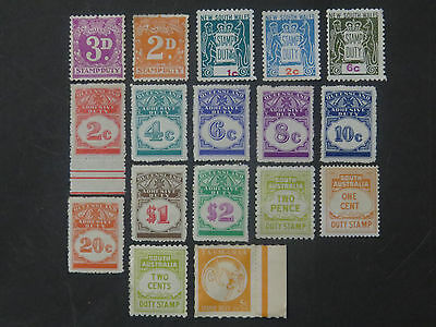 Australia Revenues and Duties Mint Selection - 1 Page