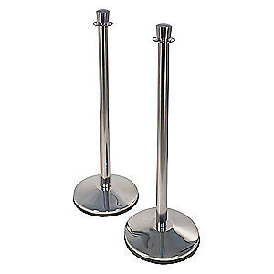 CONVENTIONAL POST PRIME Urn Top Rope Post,40inH,Sloped,PK2, CP40S-PS1-2PK
