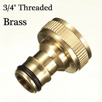 3/4 Inch Brass Threaded Garden Hose Water Tap Fittings Solide