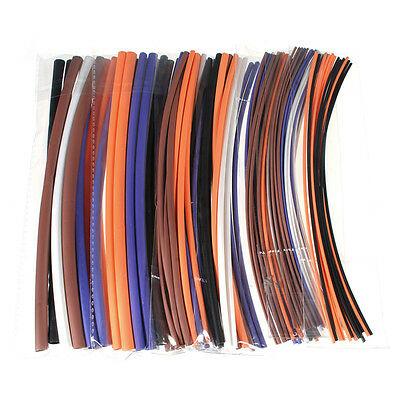 100Pcs Assortment 2:1 Heat Shrink Tubing Tube Sleeving Wrap