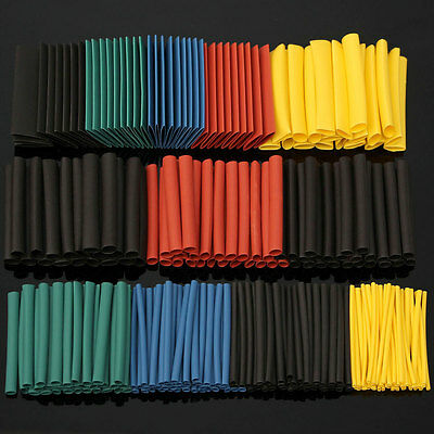 280Pcs Halogen-Free 2:1 Heat Shrink Tubing Wire Cable Sleeving