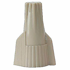 3M Twist On Wire Connector,22-8 AWG,PK1000, 412-Box, Tan