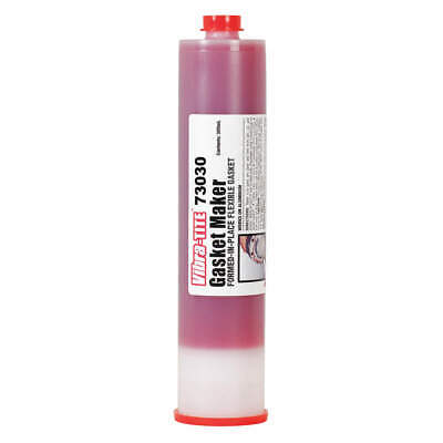 VIBRA-TITE Gasket Sealant,300mL,Red, 73030, Red