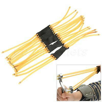 5pcs/ 10pcs Heavy-duty Rubber Band Set Replace For Hunting Slingshot Catapult