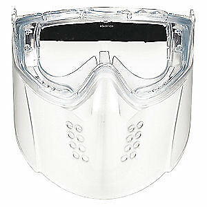 MSA Faceshield Goggle Assembly,Clear, 10150069