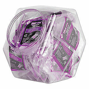 VIBRA-TITE Threadlocker,Purple,Fishbowl,PK100, 11199