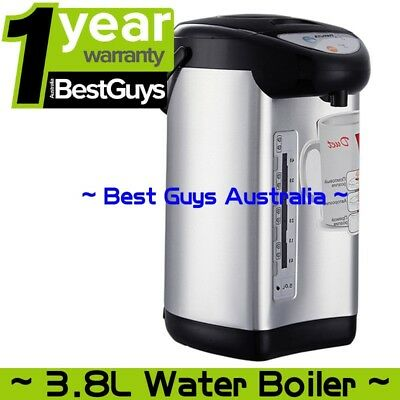 Instant Electric 3.8L Kettle Hot Water Dispenser Boiling Boiler 750W Silver