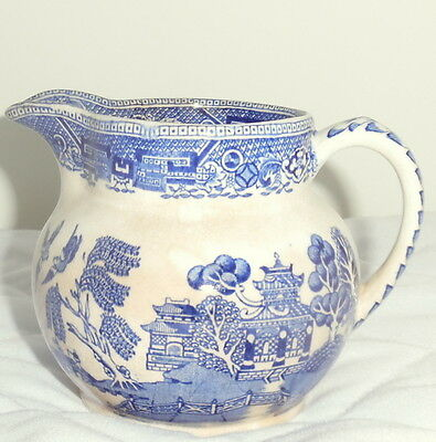 RidgeWay&Co. Collectible Jug Creamer Blue And White