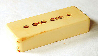 Aged P90 Vintage Pickup Cover Bone White Fits To Gibson Les Paul ®