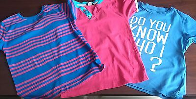 boys bundle of 3 t shirts age 6-7 years