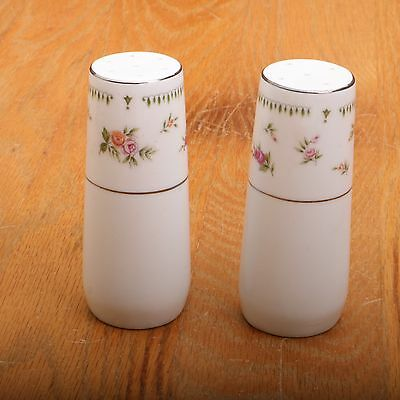 Sheffield Bouquet Salt and Pepper Porcelain Fine China Made In Japan Vintage