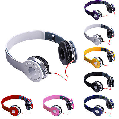 DJ Foldable Headband Headphone Headset Earphone Music for Android iPhone Phone