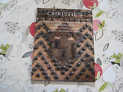 Christies Catalogue Oak Inc V.myerson Collection Of Cutlery Lon Nov96