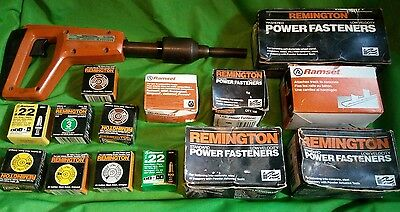Remington Powder Autuated Tool Model # 490 with EXTRAS