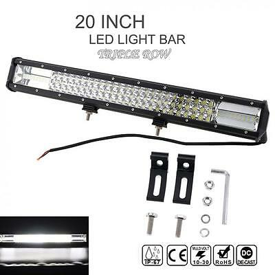 20Inch Bar 540W 54000LM Philips Led Work Light Offroad Spot Flood ATV Headlamp