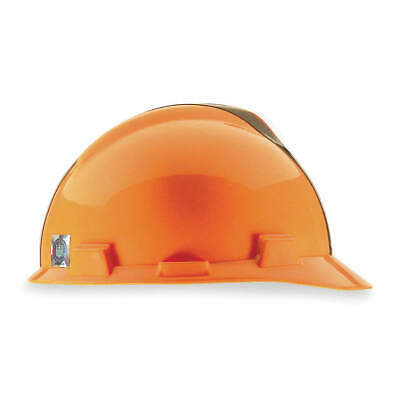 MSA NFL Hard Hat,C, E,Brown/Orange, 818391, Brown/Orange