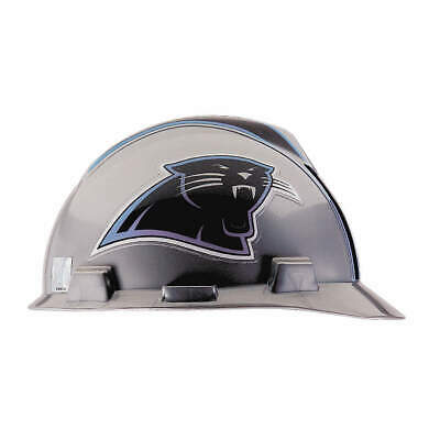MSA NFL Hard Hat,C, E,Gray/Black,1-Touch, 818388, Gray/Black