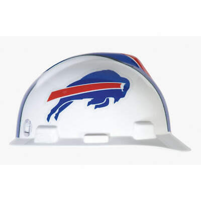 MSA NFL Hard Hat,C, E,Red/White/Blue, 818387, Red/White/Blue