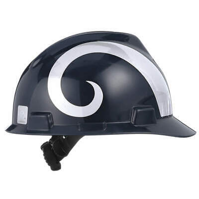 MSA NFL Hard Hat,C, E,Gold/Blue,1-Touch, 818411, Gold/Blue