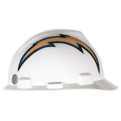 MSA NFL Hard Hat,C, E,Blue/White,1-Touch, 818408, Blue/White