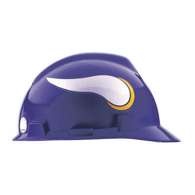 MSA NFL Hard Hat,C, E,Purple/White, 818400, Purple/White