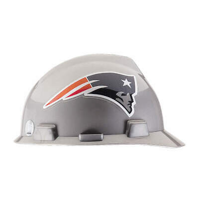 MSA NFL Hard Hat,C, E,Gray/Blue,1-Touch, 818401, Gray/Blue