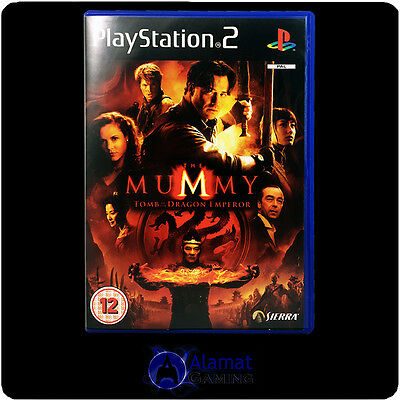The Mummy Tomb Of The Dragon Emperor (PS2) Very Good - Action Adventure