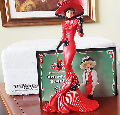 A Timeless Pause with Coca-Cola Elegance Collection - Figurine #316513