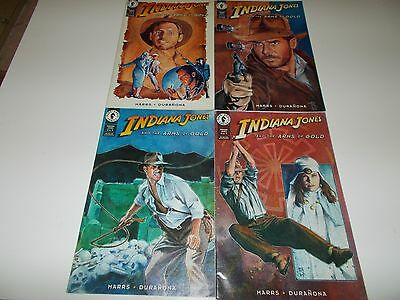 """Indiana Jones  -  Comics, """"Indiana Jones and the Arms of Gold""""  all 4 issues, 19"""