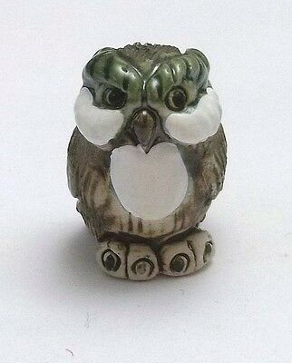 belle chouette,miniature,chouette, hibou, uil, owl  S13*-41