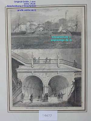 14677-GB-UK-England-Great Britain-LONDON-THEMSE TUNNEL-