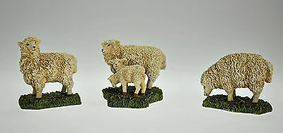 Lang and Wise Williamsburg Sheep [Set of 3] - Mint in Original Box