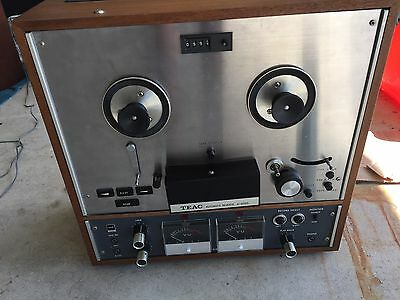 TEAC A-4010S REEL TO REEL AUTO REVERSE TAPE DECK - New Belt   Tested!