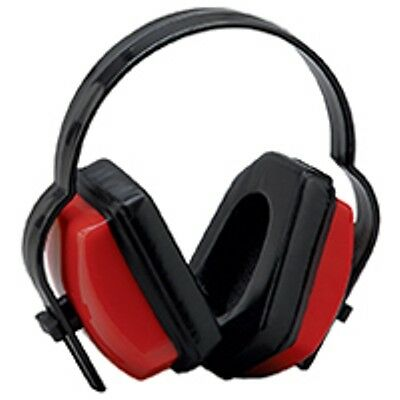 2 Red Ear Muffs Hearing Protection Folding & Adjustable Work//Hunting/Shooting