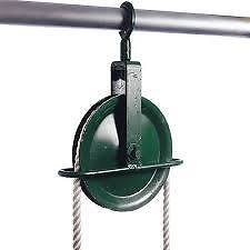 Gin Wheel 250kg Capacity, Scaffold Rope Pulley Wheel