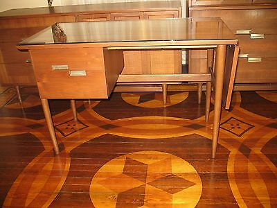 Mid Century Modern Desk  by  American of Martinsville