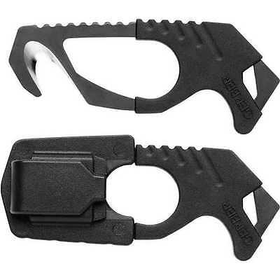 Gerber STRAP CUTTER and WINDOW BREAKER - Black seat belt safety rescue emergency