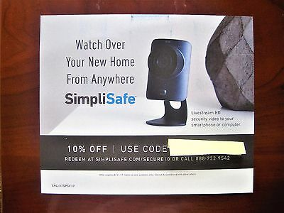 Simplisafe coupon codes
