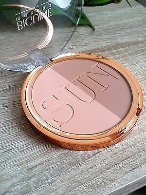 Poudre compacte contouring  SUN DUO @ BIGUINE make-up