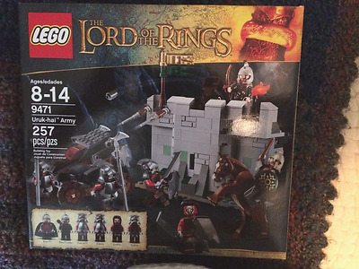 LEGO Lord of the Rings Uruk-hai Army (9471)-BRAND NEW SEALED