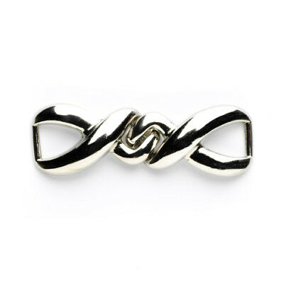 Link Clasp: 55mm: Silver