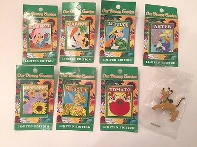 Epcot International Flower and Garden Show Limited Edition Set of Pins
