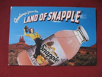 "Rare Vintage 1994 ""Land of Snapple"" Apology Postcard"