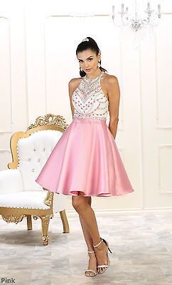 Sale ! Graduation Prom Cocktail Cute Homecoming Dresses Semi Formal Dance Party